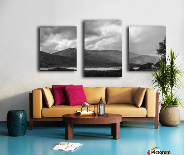 Scotish Highlands Impression sur toile