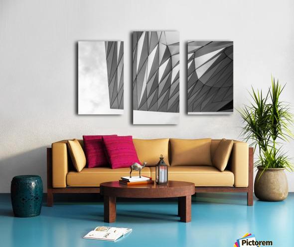 Musée des Confluences Canvas print