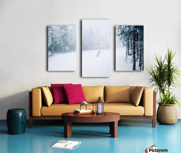 Conditions Parfaites Impression sur toile