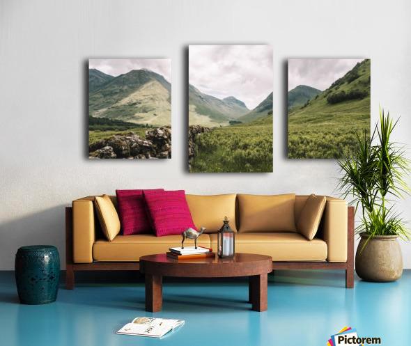 Parc de Glencoe 1 Impression sur toile