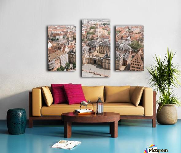 Palais Rohan Strasbourg Impression sur toile