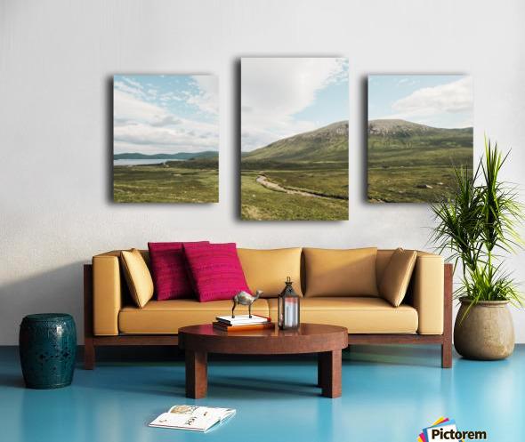 Loch Ainort Impression sur toile