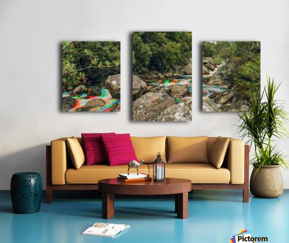 Glen Shiel River - Colorflow 3 Impression sur toile