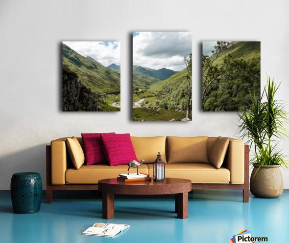 Glen Shiel Impression sur toile