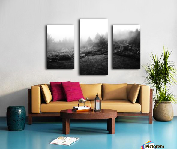 Brume Matinale Impression sur toile