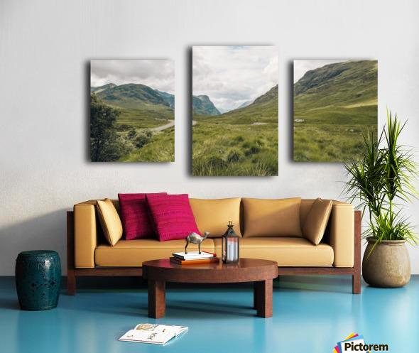 Parc de Glencoe 2 Impression sur toile