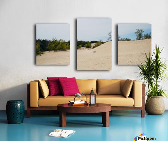 Sandbanks 1 Impression sur toile