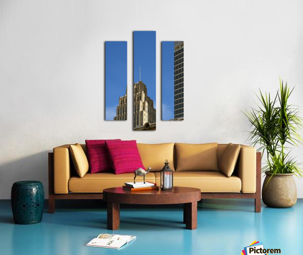 Historic Reynolds Building Canvas print