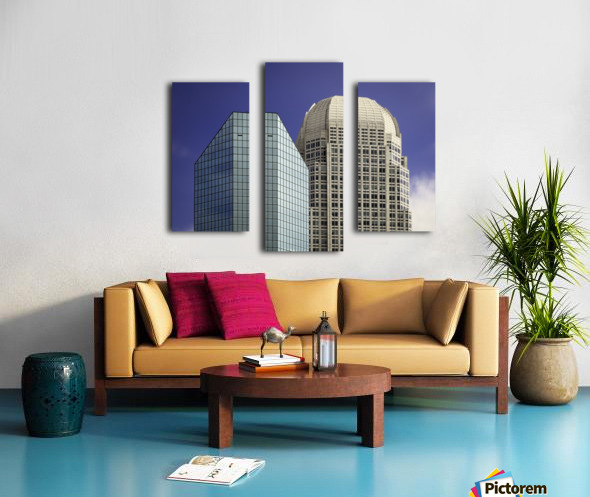 Two Giants Canvas print