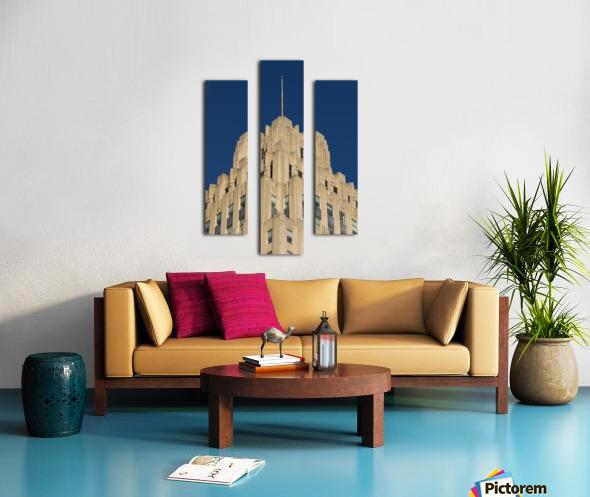 RJR Tower c Canvas print