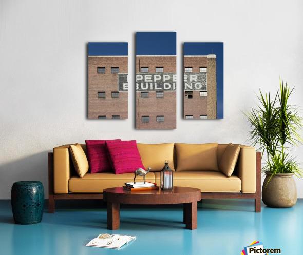 Pepper Building 2 Canvas print