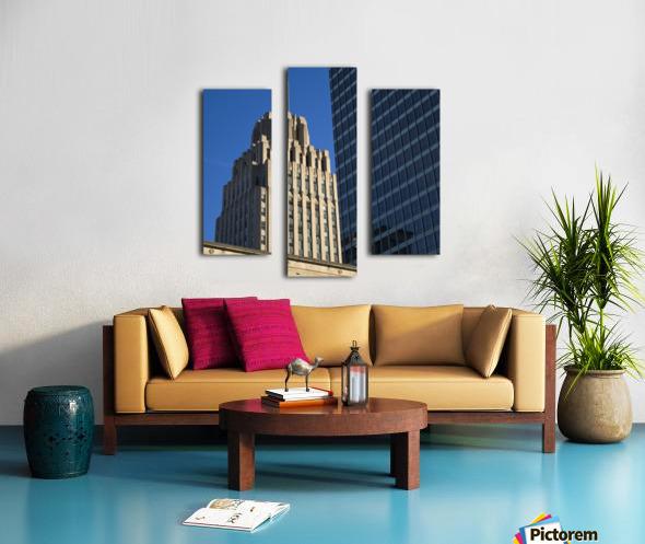 Winston Skyscrapers Canvas print