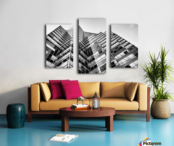 Glass Towers Canvas print