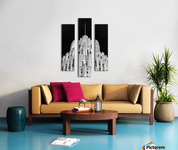 RJR Tower Canvas print