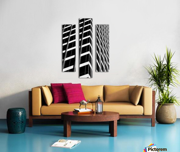 International Abstract Canvas print