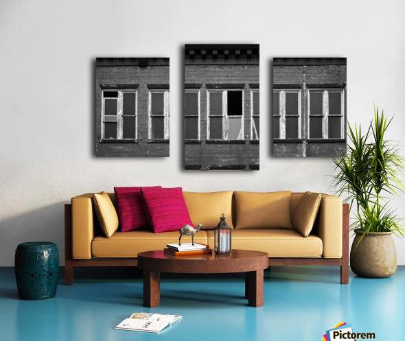 Winston Windows Canvas print