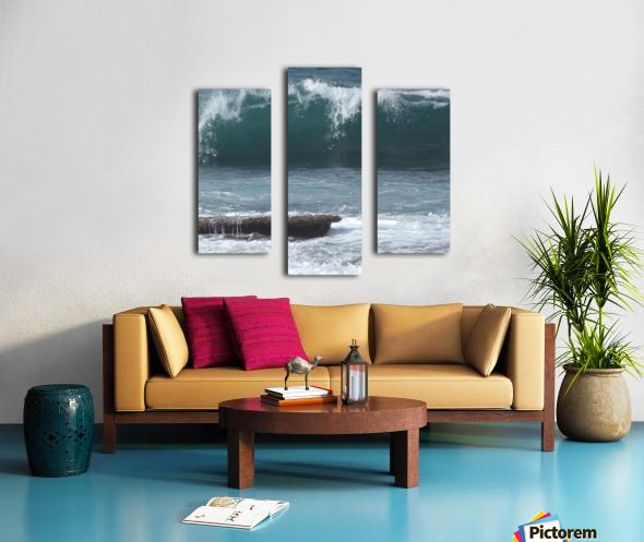 Breaking Wave Canvas print