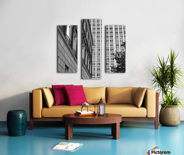 Winston Salem 90 Canvas print