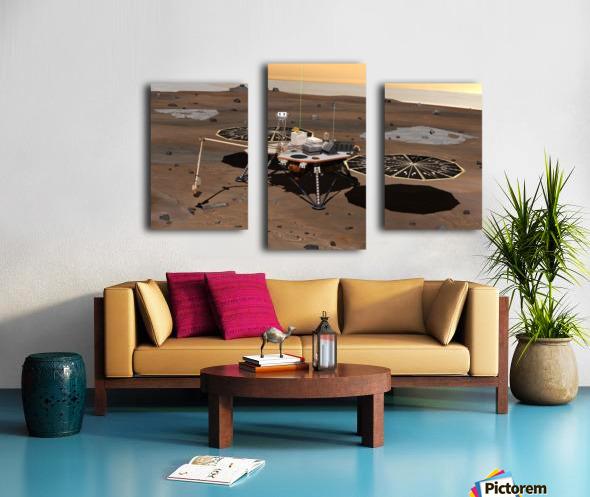 Phoenix Mars Lander Canvas print