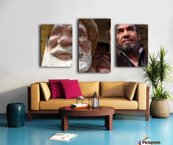 ahson qazi_self Portrait_artist_painter_calligrapher_Shades of divinity_Photographer 2 Canvas print