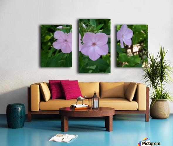Small Purple Flowers Canvas print