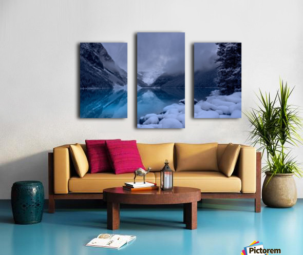 Lake Louise blues Canvas print