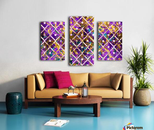 Pattern LXXXII Canvas print