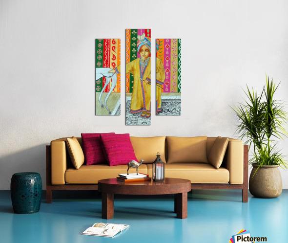 Mini Maharajah Canvas print