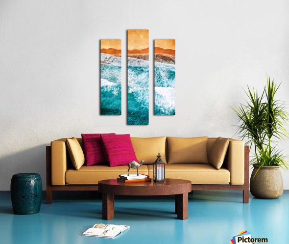 Tropical VI - Beach Waves II  Canvas print