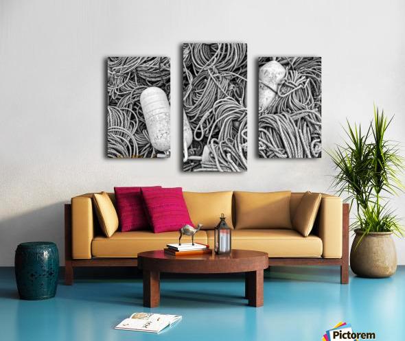 Rope & Buoys - AP 3733 Canvas print
