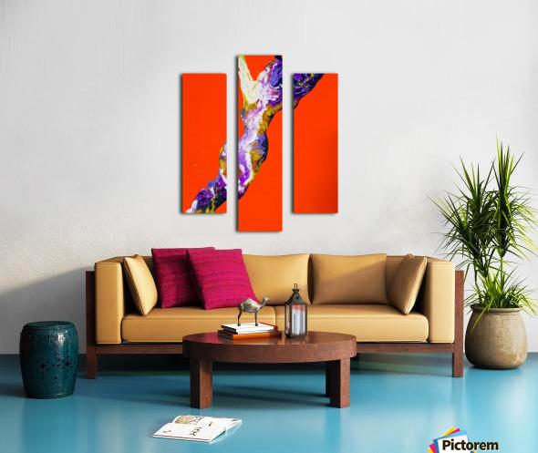 The Shape Canvas print