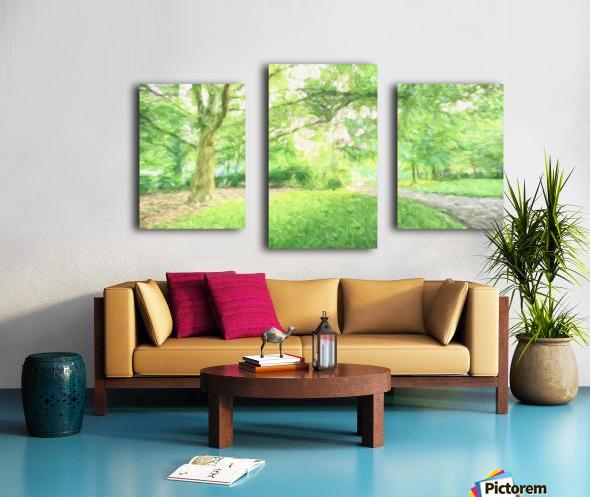 Park View Canvas print