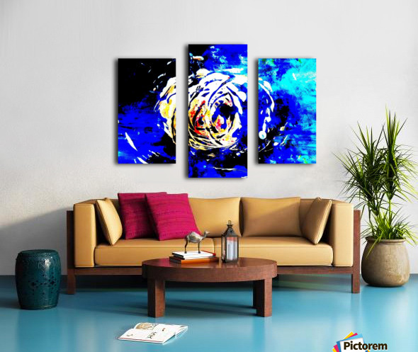 79 High Contrast Canvas print