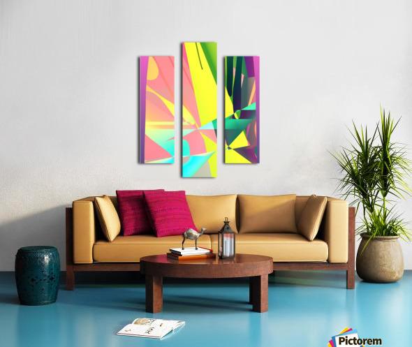 reach out 82818 H Canvas print