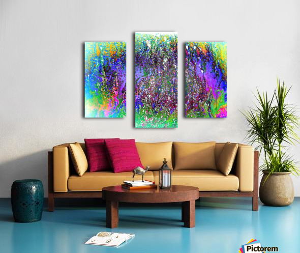 Bubbles Reimagined 61 Canvas print