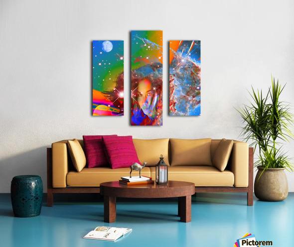 Cosmic Dream Canvas print