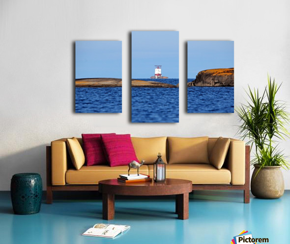 Red Rock Lighthouse Georgian Bay Canvas print