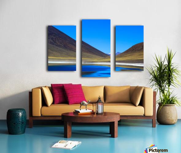 Laguna Meñiques Canvas print
