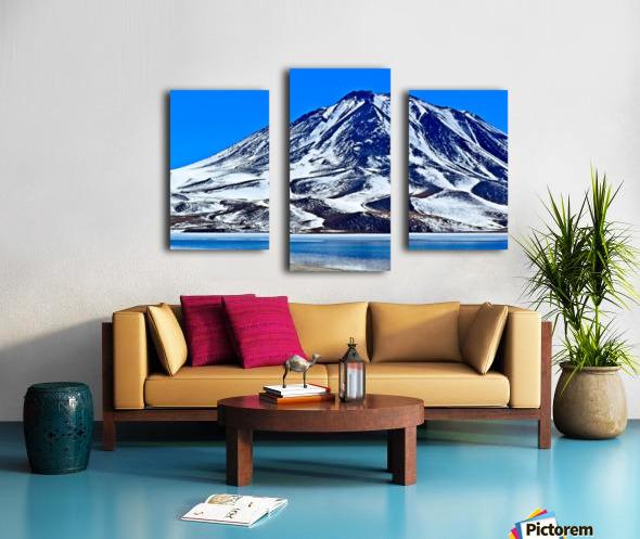 Laguna Miscanti Canvas print