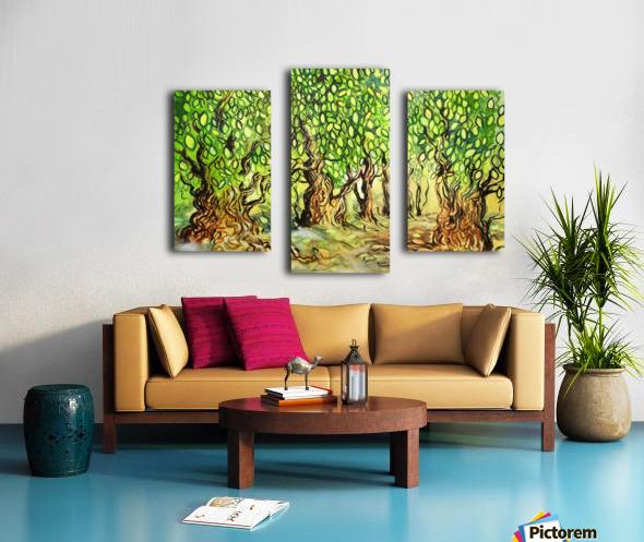 Landscape 2 2018 Canvas print
