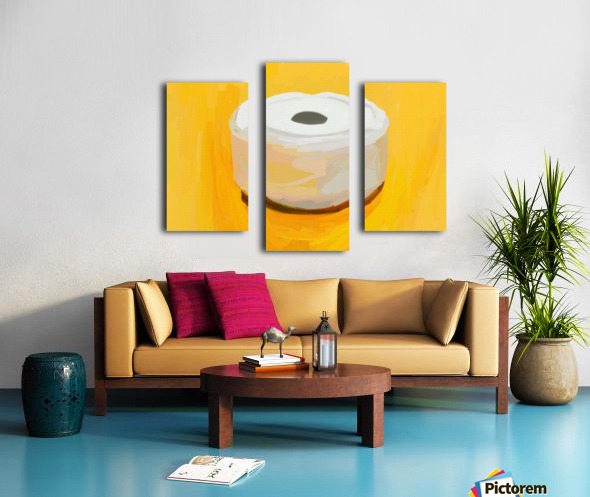 Ashtray Canvas print