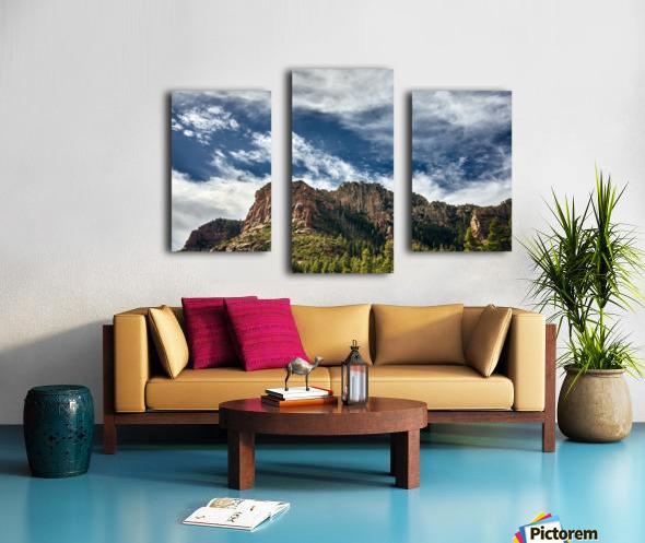 Southwest Sky Canvas print