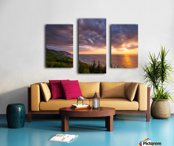 The Endless Sun Canvas print
