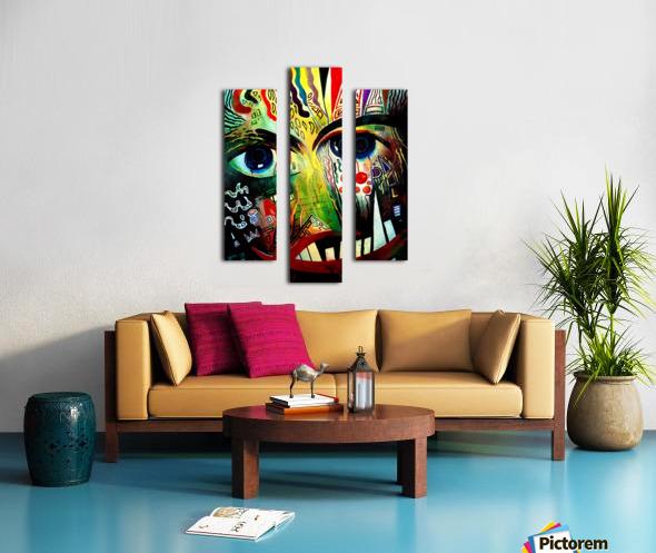 Expressionism 2 Canvas print