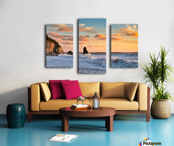 Tangerine Skies Canvas print