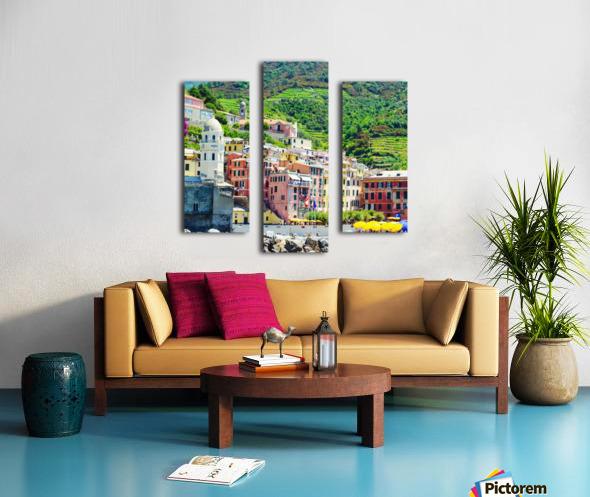 Colorful village of Cinque Terre Canvas print