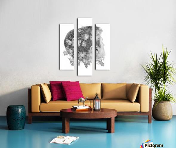 Devine Canvas print