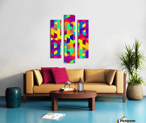 Vivid Pattern I Canvas print