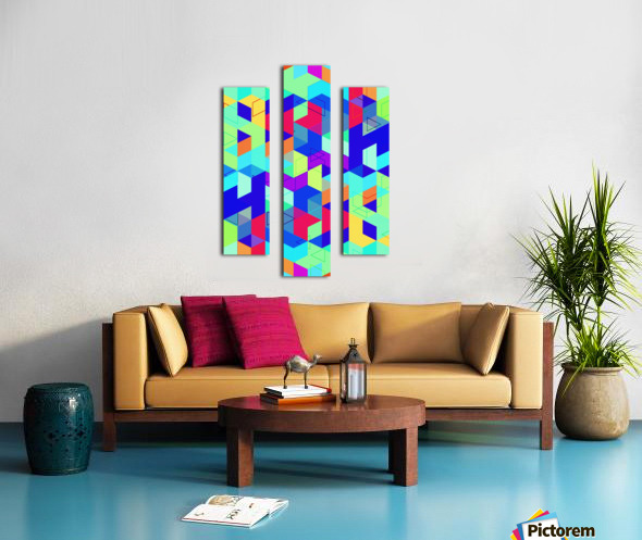 Pattern LXXIX Canvas print
