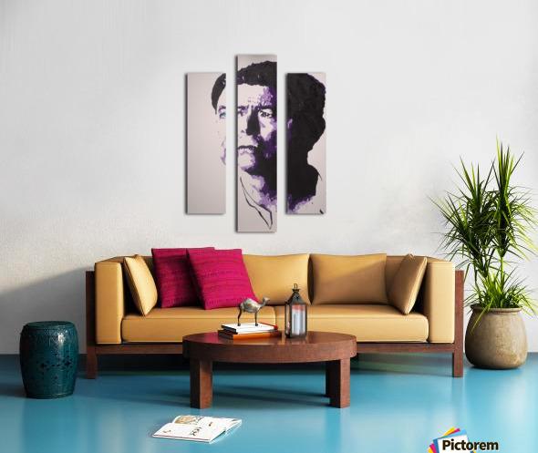 2014 Sad Bowie Canvas print